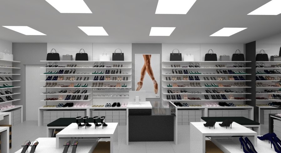 projekty sklepów