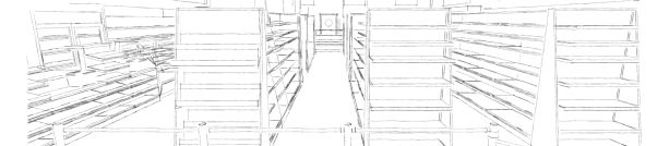 Nowoczesna architektura Aranżacja sklepu spożywczego| Projekty sklepów spożywczych LB26